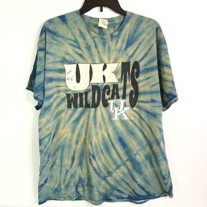 UK University of Kentucky Tye Dye Vintage Graphic